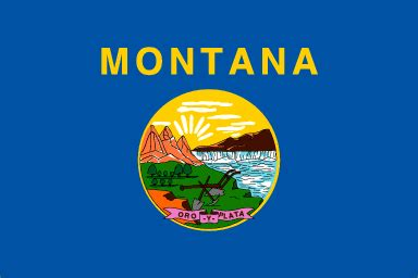 montana state colors montana state flag