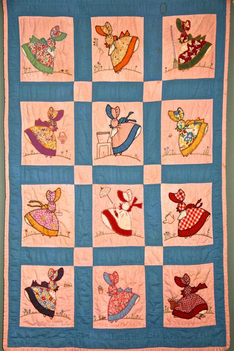 quilt pattern sunbonnet sue sun bonnet sue on pinterest sunbonnet sue quilt