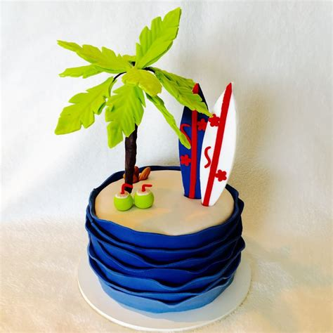 Surf Cake Decorations by Best 20 Surfing Cakes Ideas On Surfer Cake