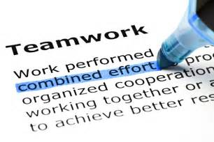 The importance of teamwork something i learned from my teenage son
