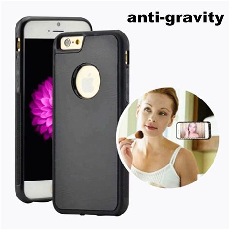 Promo Anti Gravity Soft For Iphone 7 Plus pc anti gravity for iphone 5s se 6s 7 7plus magical anti gravity nano suction cover