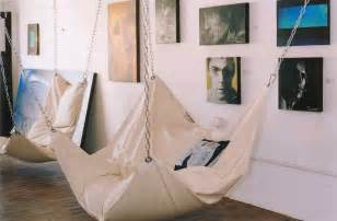Hammocks For Indoors Cool Indoor Hammock Le Beanock Digsdigs