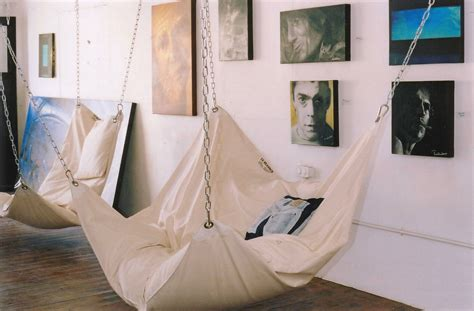 Inside Hammocks cool indoor hammock le beanock digsdigs