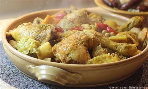 recette de cuisine pour diab騁ique couscous au poulet et aux l 233 gumes d hiver