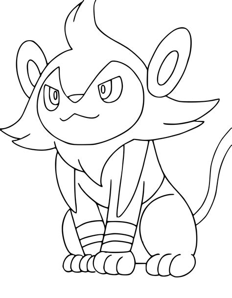 pokemon coloring pages riolu pokemon riolu coloring coloring pages