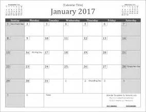 2017 Calendar Template by 2017 Calendar Templates And Images