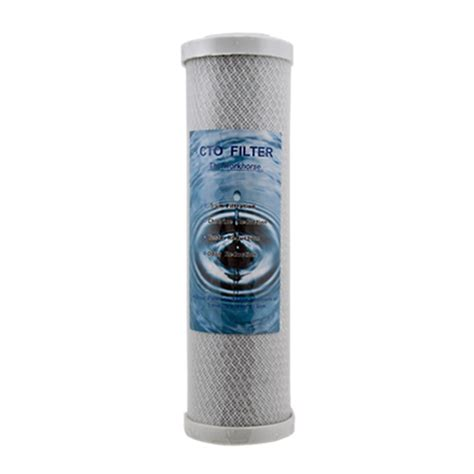 10 quot cto block carbon filter the water site