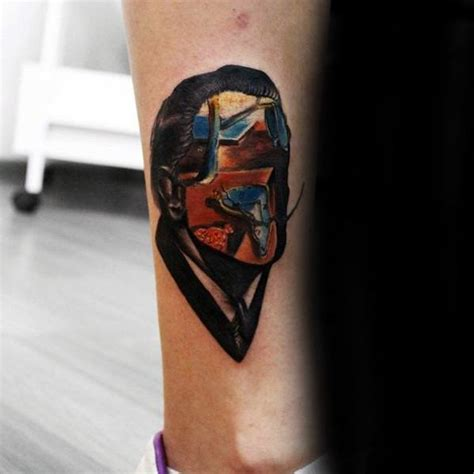salvador dali tattoo 50 salvador dali designs for artistic ink ideas
