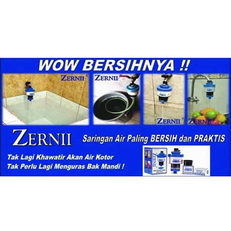 Kapas Penyaring Zernii Water Filter zernii water filter set komplit 3 pcs filter air refill karbon aktif kapas dapurnesia