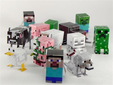 minecraft craft ideas for awesome minecraft paper crafts any of your obsessed