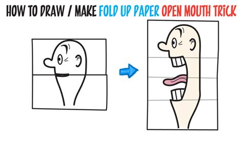 Cool Paper Folding Tricks - drawing lessons for archives how to draw step by