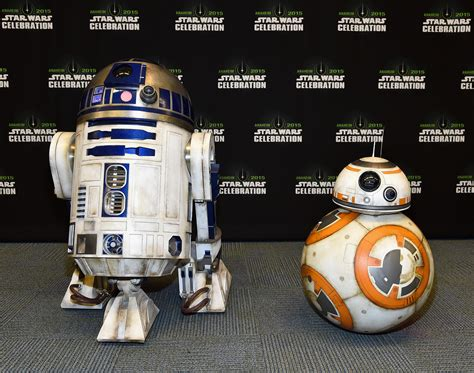 droid star wars force awakens star wars celebration pictures feature the cast new droid