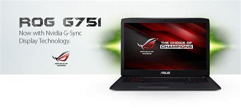 Asus Rog G751jt Ch71 Gaming Laptop asus rog g751jt ch71 17 3 quot intel i7 2 50ghz 16gb 1tb gtx 970m ebay