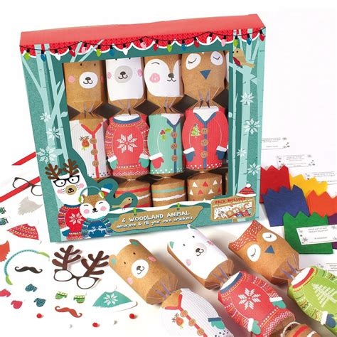 fill your own christmas crackers 6 pack oxfam gb