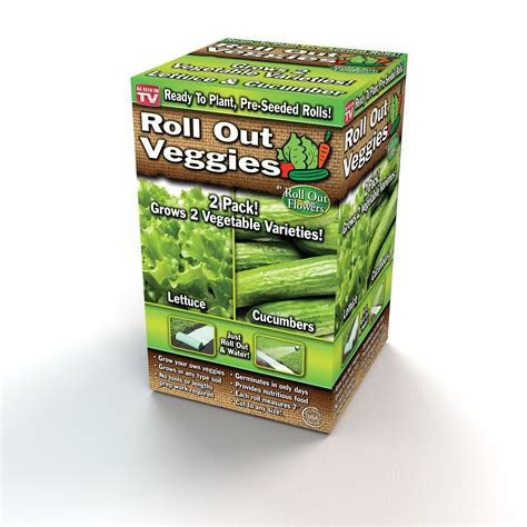 Roll Out Vegetable Garden Roll Out Veggie Patch Lettuce Cucumber Garden Innovations