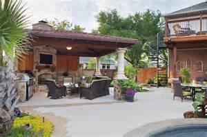 cabana with bar and fireplace pool side cabanas