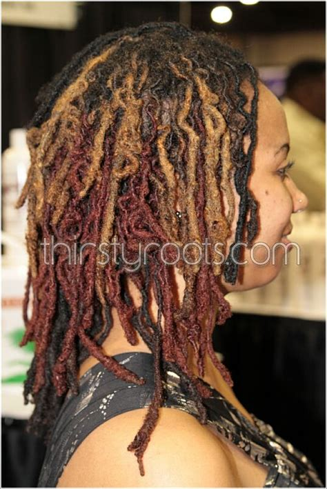colored dreads colored dreadlocks hairstyles thirstyroots black
