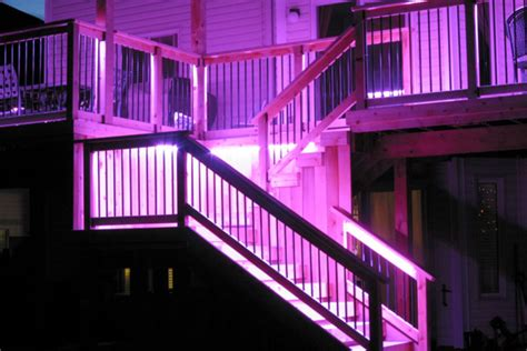 Led Patio Lighting Ideas Deck Lighting Ideas Deck Stair Lighting Houselogic Lighting Tips