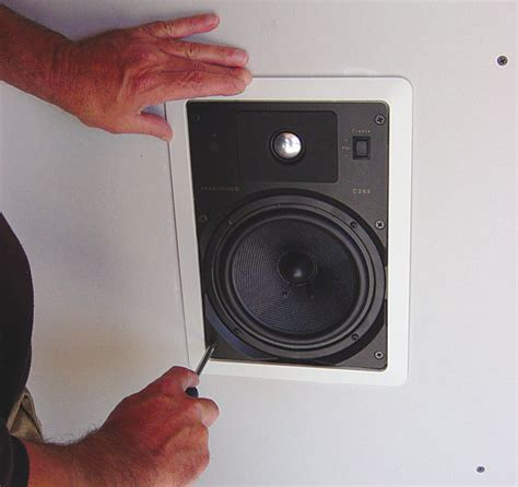 The Diy Homeowner S Guide Installing In Wall And In How To Install Ceiling Speakers