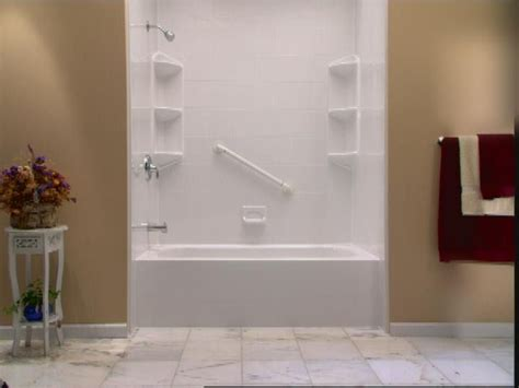 Bathroom Shower Insert Bathtub And Shower Inserts 171 Bathroom Design