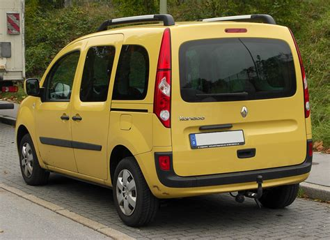 2010 Renault Kangoo Ii W Pictures Information And