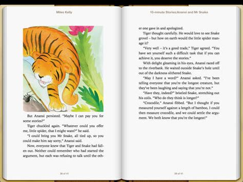 printable version of anansi wisdom story itunes books 10 minute stories anansi and mr snake by