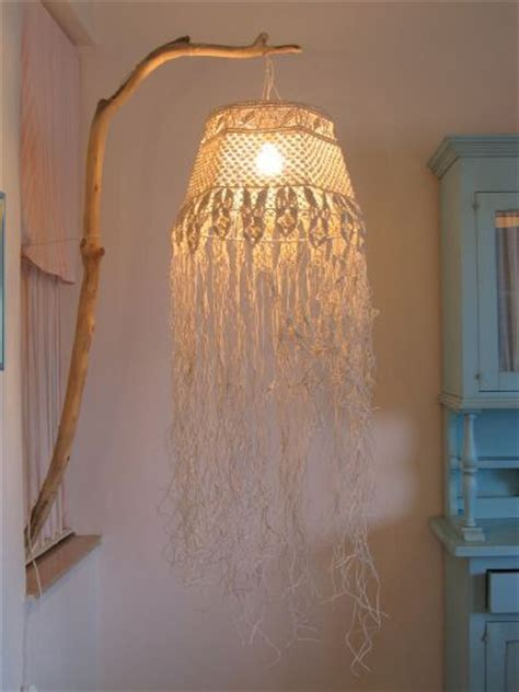 collezionitosane info chandelier made with macram 233 knot lace of bleached cotton string