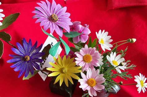 How To Make Paper Daisies - how to make paper daisies espa 241 ol