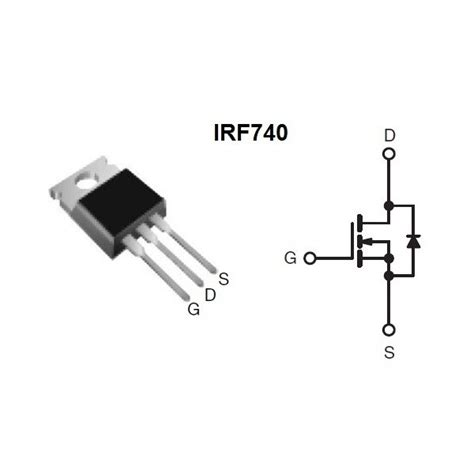 mosfet transistor uk irf740 irf740pbf hexfet power mosfet 400v up to 10a brand new uk stock ebay