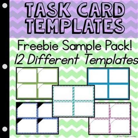 how to make task card templates 56 best images about pattern on printable
