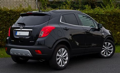 opel mokka file opel mokka 1 4 turbo ecoflex innovation heckansicht