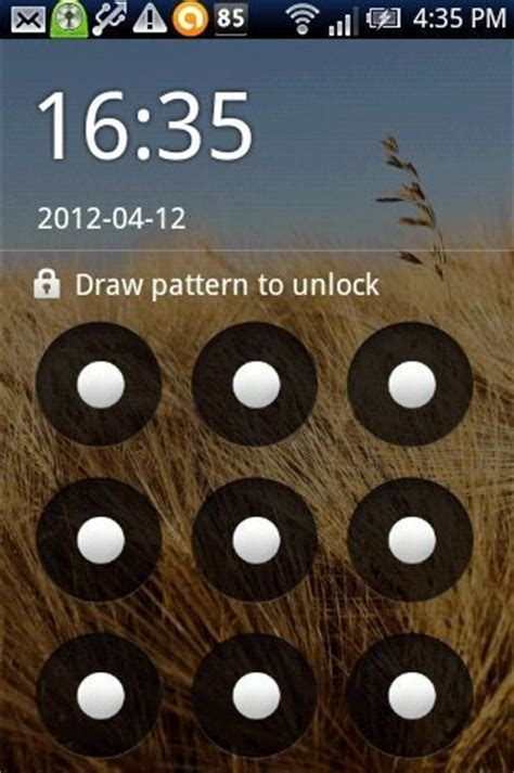 how to enable pattern lock on android phone without any app how to enable pattern lock with go locker app on android