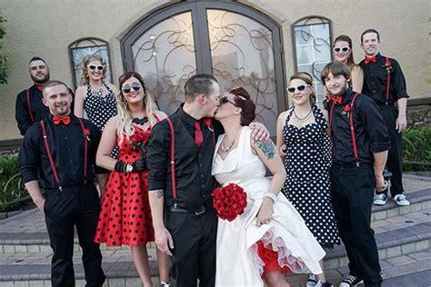get the look rockabilly weddings