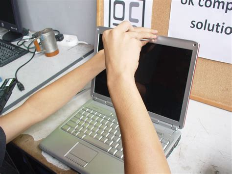Repair Skrin Laptop Dell ok computer solution taiping repair screen laptop dell inspiron 1420