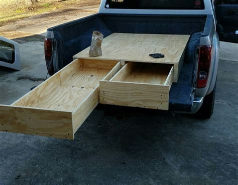 truck bed drawers diy best 25 truck bed storage box ideas on pinterest diy