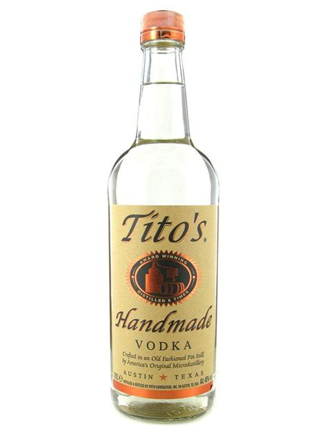 Titos Handmade Vodka - titos handmade corn vodka 40 70cl 163 29 95 drinkmonger
