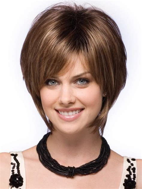 short hairstyles  thick hair olixe style