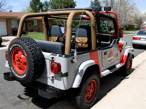 jurassic world jeep jurassic park jeep