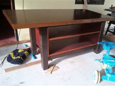 plywood work bench plywood work bench by theoneandonly lumberjocks com