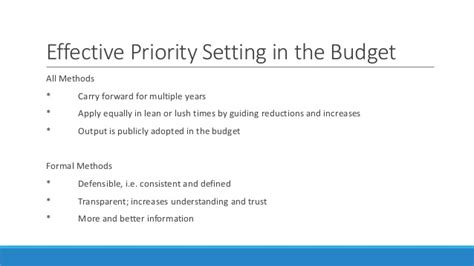 priority setter definition priority setting for budgeting 11 17 14
