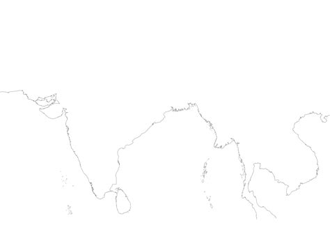 Rivers Of India Map Outline by South India Rivers Map Jambudveep S