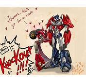 Anime/transformers Prime Knockout