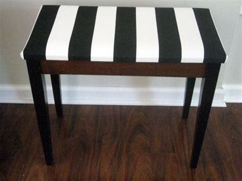 black and white striped bench black and white bench deco black and white striped