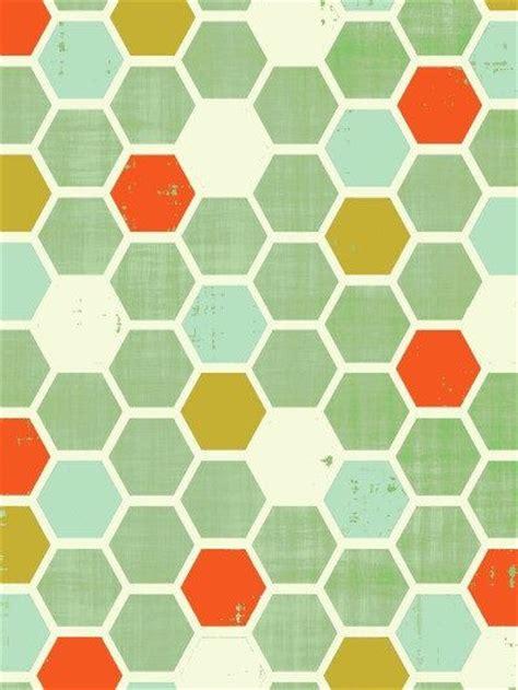 mid century geometric patterns honeycomb chevron pattern geometric print modern