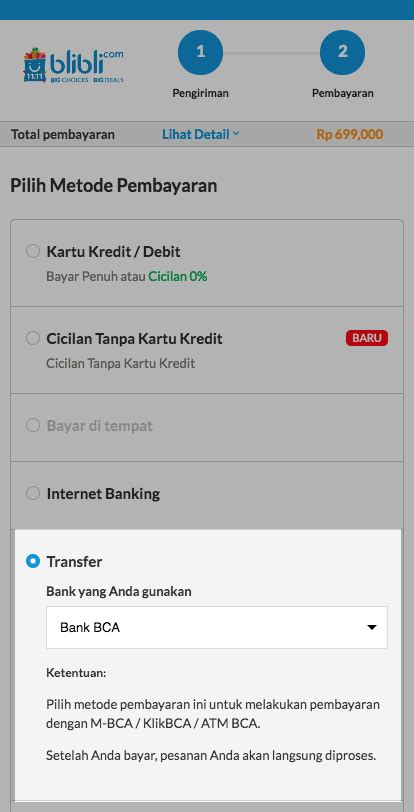 blibli virtual account transfer pusat bantuan