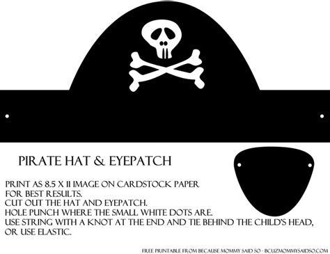 Make A Pirate Hat Out Of Paper - best photos of paper pirate hat template how do you make