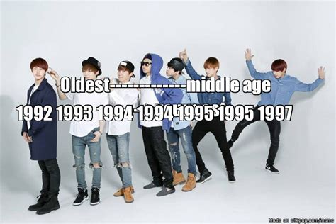 exo youngest to oldest bts age order oldest to youngest kookie is my bias and