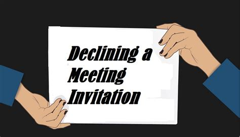 Decline Letter Definition declining invitation definition image collections