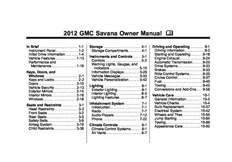 book repair manual 2008 gmc savana 2500 head up display service manual service repair manual free download 2012 gmc savana 2500 parental controls