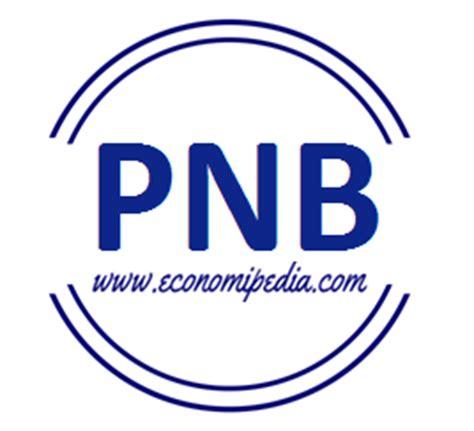 O Pnb producto nacional bruto pnb